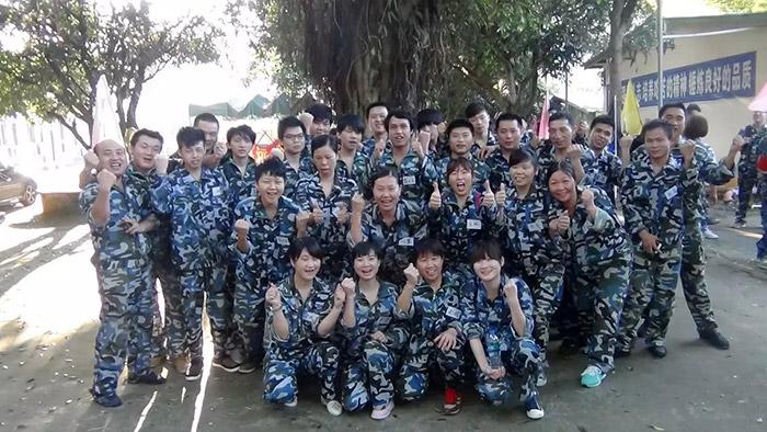 满海激光拓展训练斗志昂扬-1