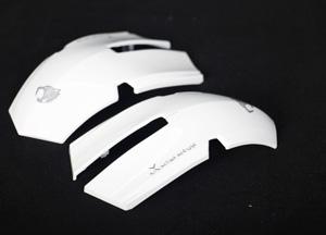 达尔优鼠标外壳激光打标-塑胶激光雕刻加工-24小时接单-满海激光