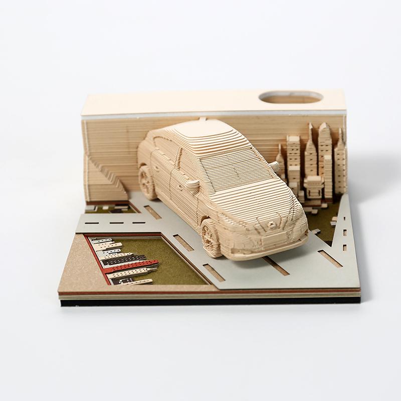 3d汽车模型便签纸新奇骏模型便签纸定制厂家
