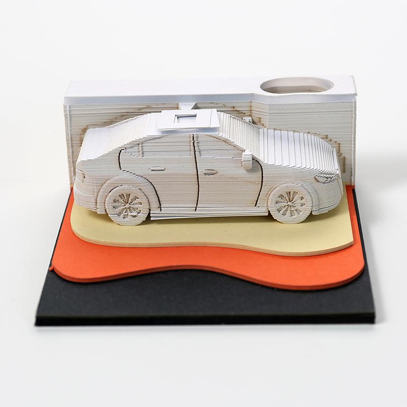 3d立体模型便签纸轩逸汽车模型便签纸定制厂家