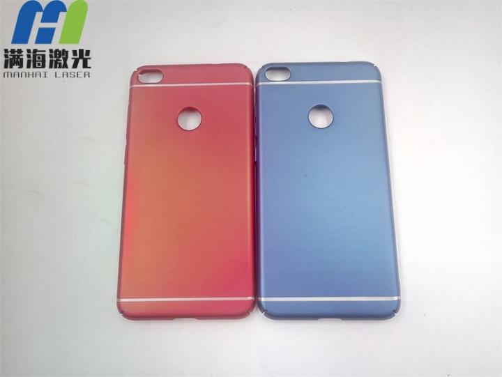 塑料手机保护壳激光打标