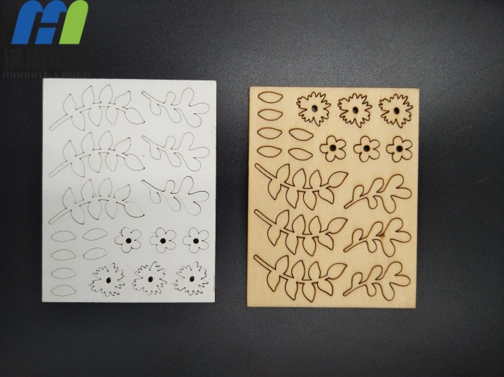 2mm木板木制玩具激光切割加工
