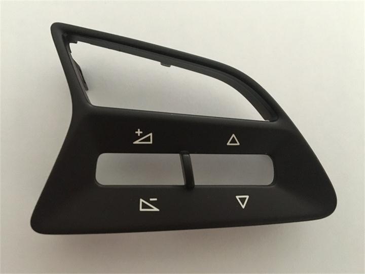 大众汽车塑胶控制面板激光镭射加工