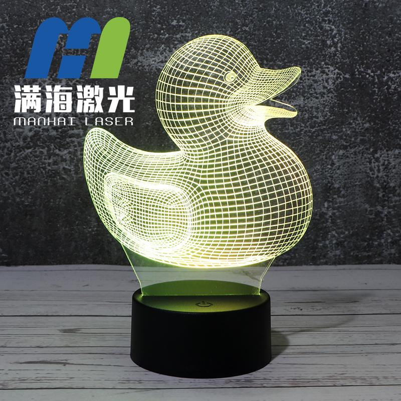 小黄鸭3d立体小夜灯定制