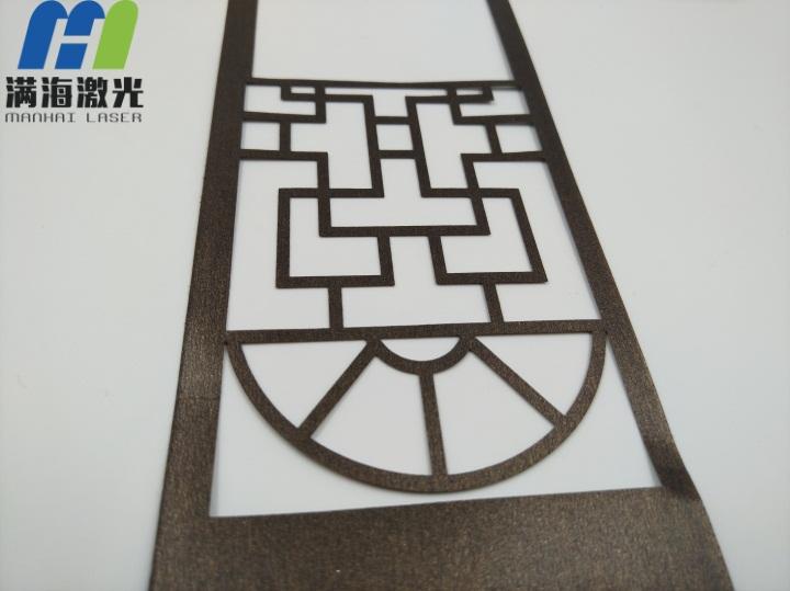 纸制月饼盒激光镭雕窗花