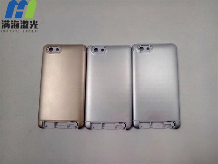 塑胶手机电池盖激光打标加工