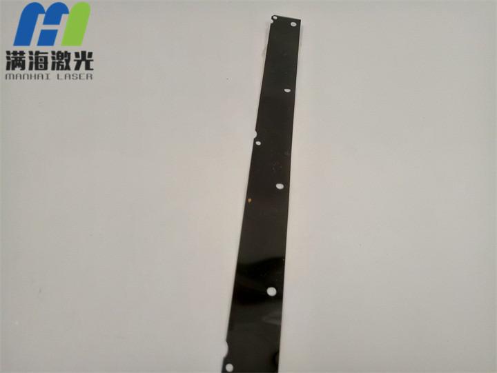 黑色塑胶片激光切割