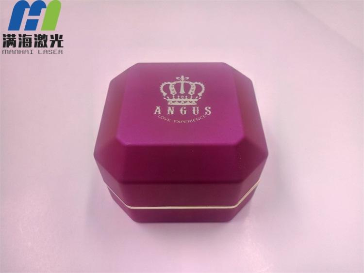 木质首饰盒高难度激光打标