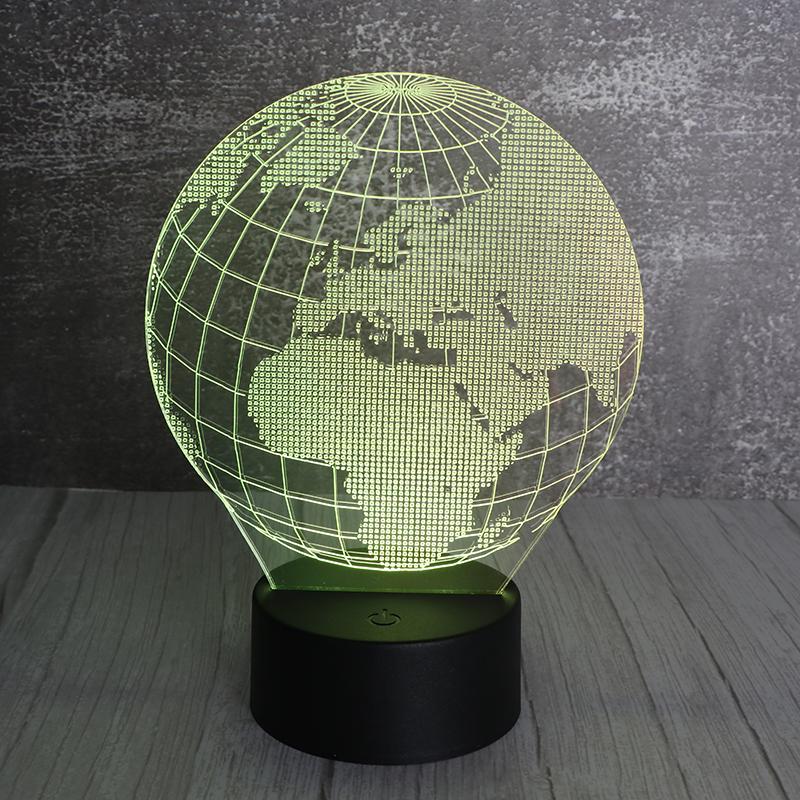 地球小夜灯