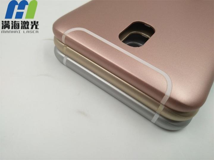 塑胶手机壳激光打标