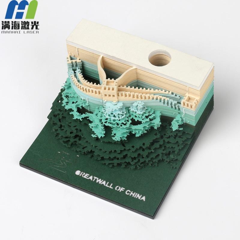 创意定制3D立体便签纸便利贴模型