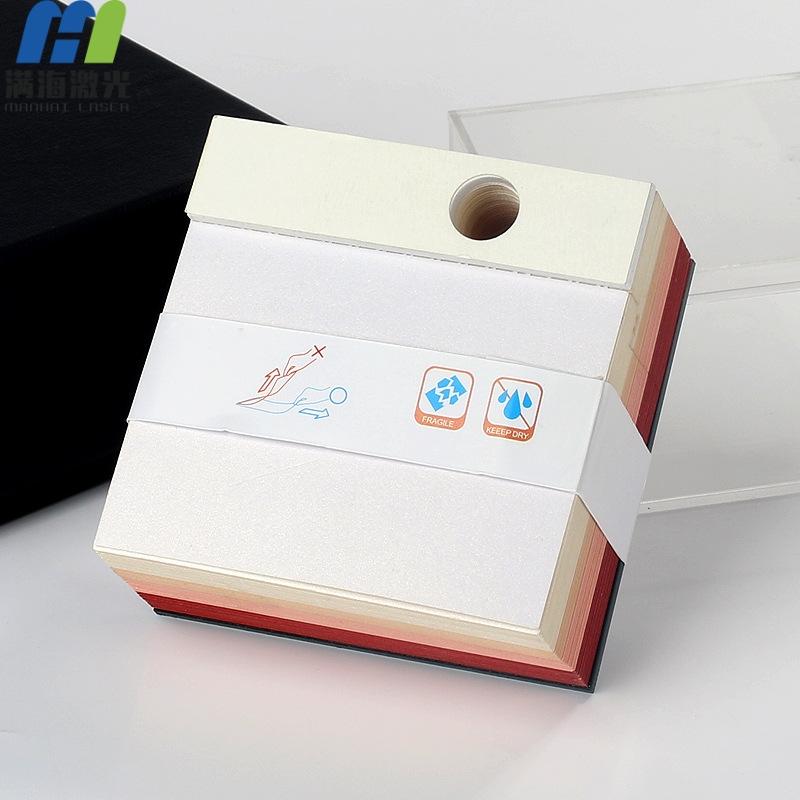 创意激光切割定制3D立体便签纸便利贴模型