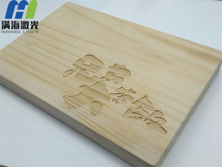 木质切菜砧板高品质激光雕刻