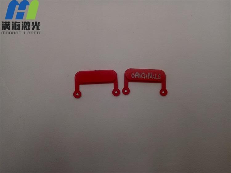 红色喷漆塑胶按键激光镭射