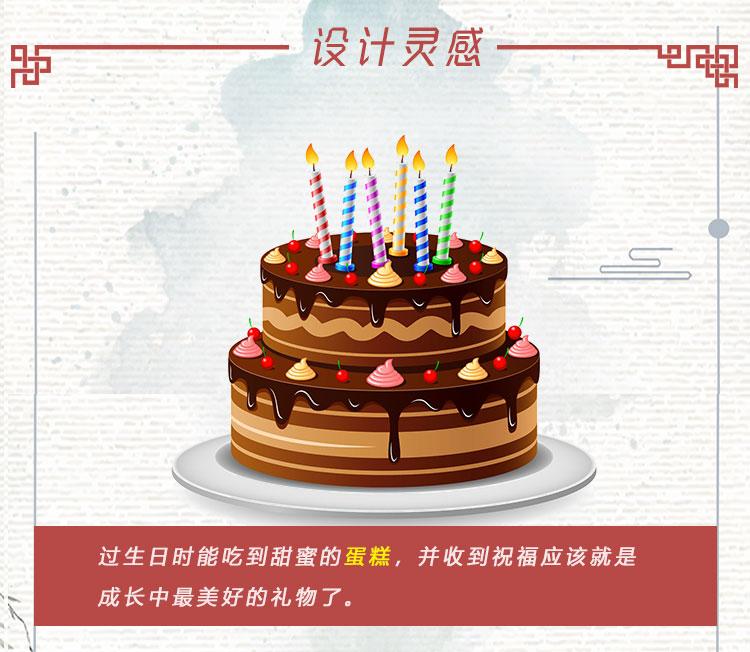 生日蛋糕3D便签_03
