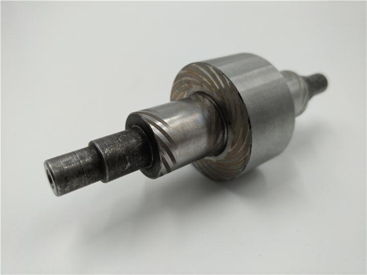 不锈钢止推盘螺旋槽激光雕刻