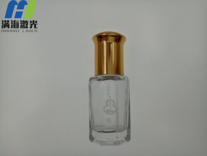 牛樟芝玻璃瓶激光镭射