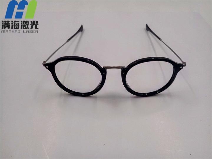 眼镜边框的激光打标