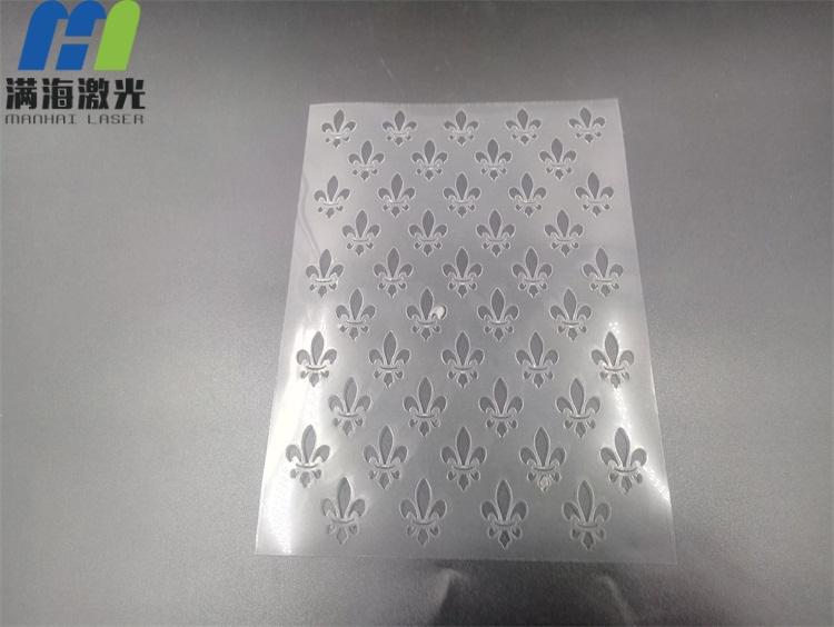 塑胶卡片激光切割加工