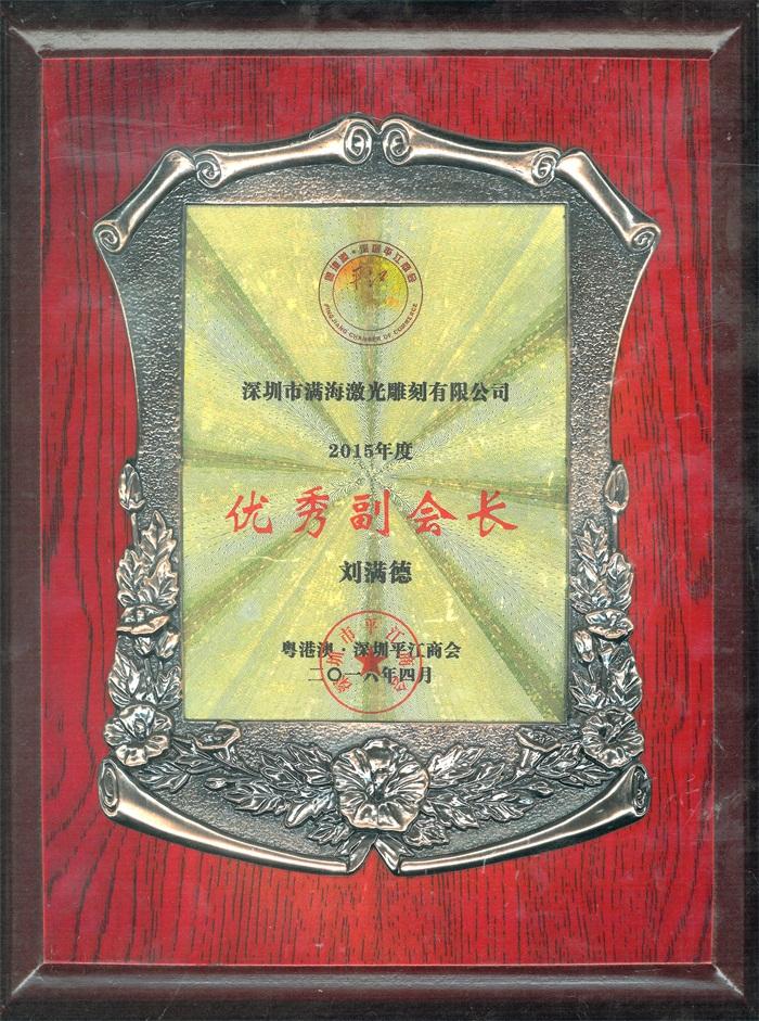"""粤港澳、深圳平江商会""""优秀副会长"""""""