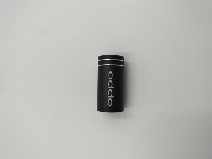光纤激光打标OPPO商标五金手机配件