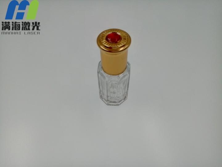 牛樟芝玻璃瓶激光雕刻