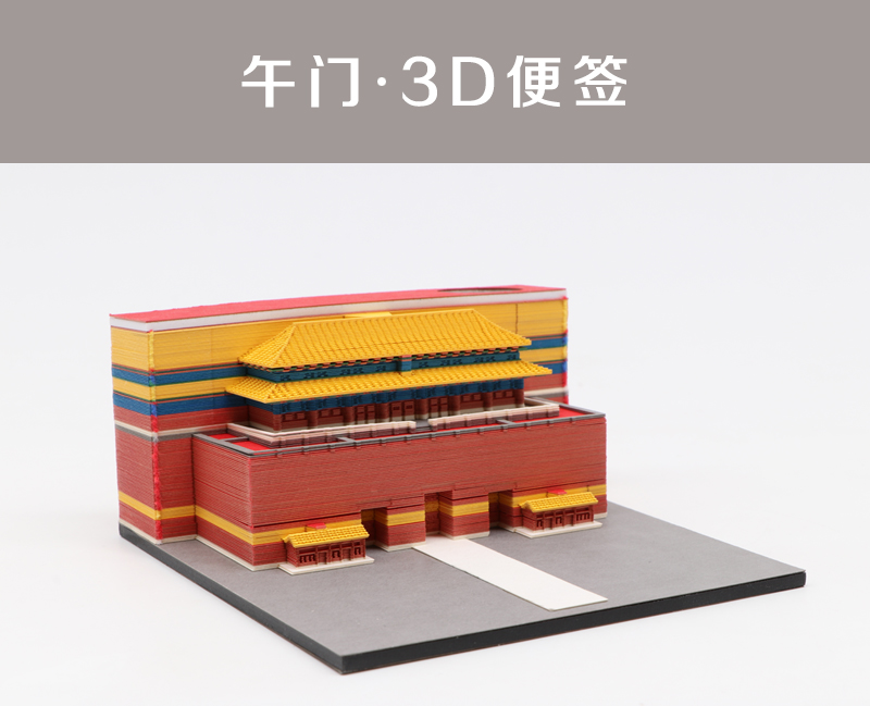 建筑模型便签纸