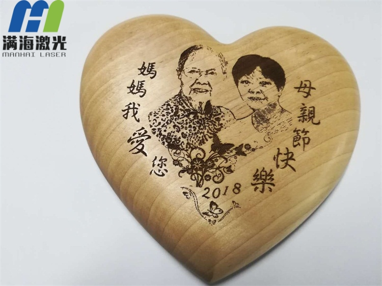 母亲节木制工艺品礼品高品质激光雕刻