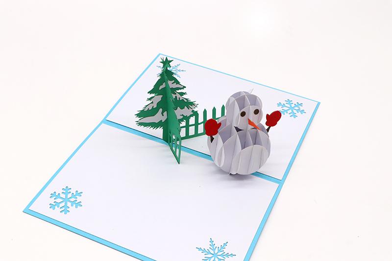 3d圣诞贺卡