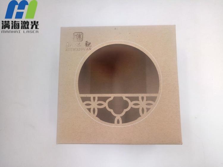 月饼内包装盒激光雕刻加工窗花