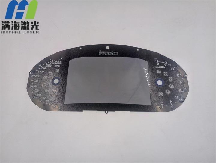 汽车塑胶仪表盘激光打孔