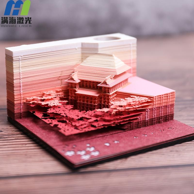 日本同款3D立体清水寺便签纸定制厂家