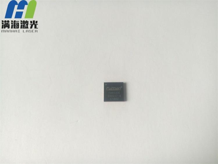芯片表面高精度加工打标加工