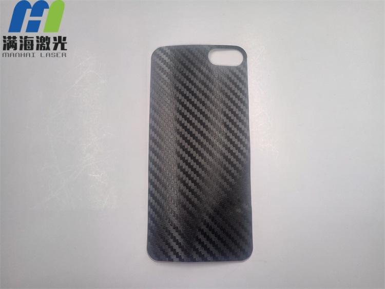手机贴膜纤维材料激光切割加工
