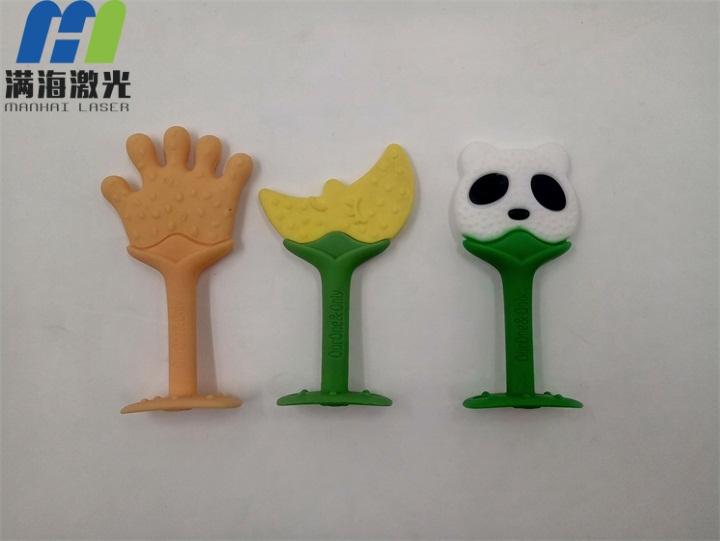 硅胶模型小孩玩具激光雕刻加工
