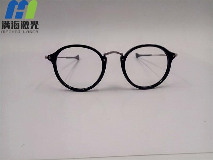 金属不锈钢眼镜鼻粱激光打标加工