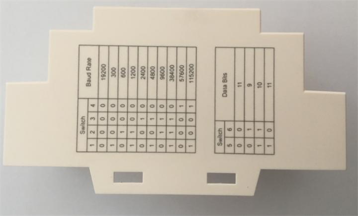 电闸开关盒塑料件激光刻字加工过程